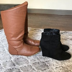 Size 7/8 shoe haul Rue 21 Booties & ankle boots